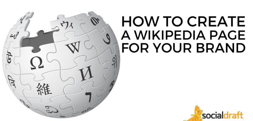 How to format and write up a Wikipedia entry