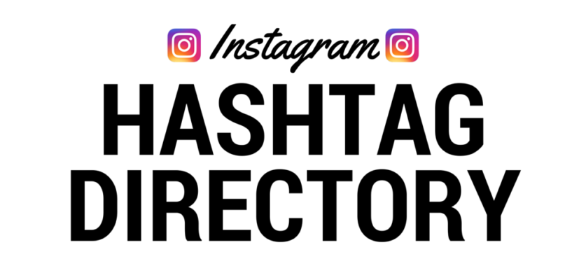 A complete directory to Instagram hashtags
