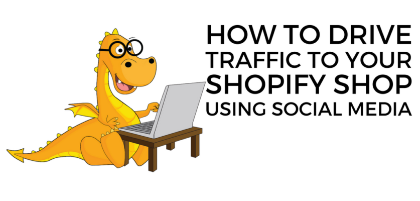 Use Social media sites to get clicks on your Shopify store