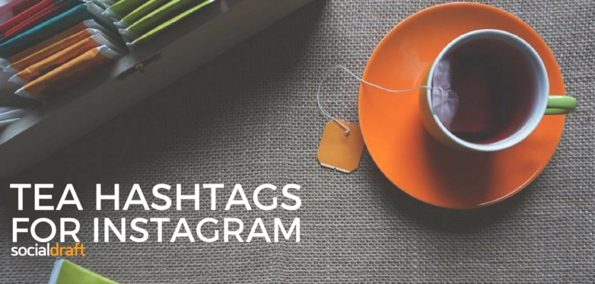 How to use hashtags to market your tea business