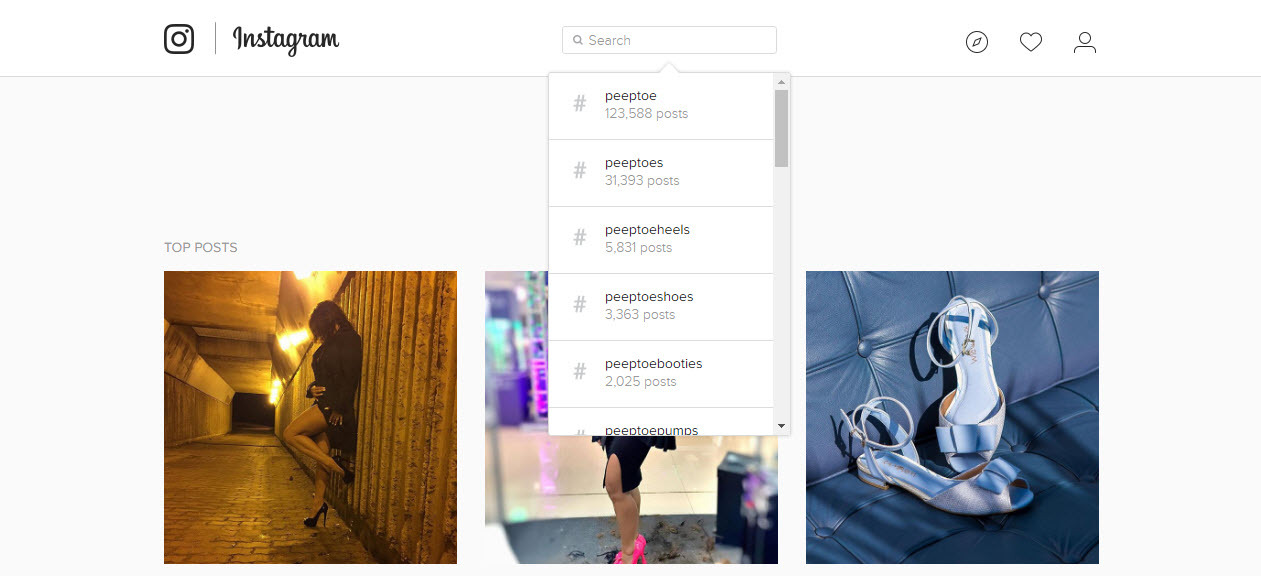 How to find optimized hashtags on Instagram