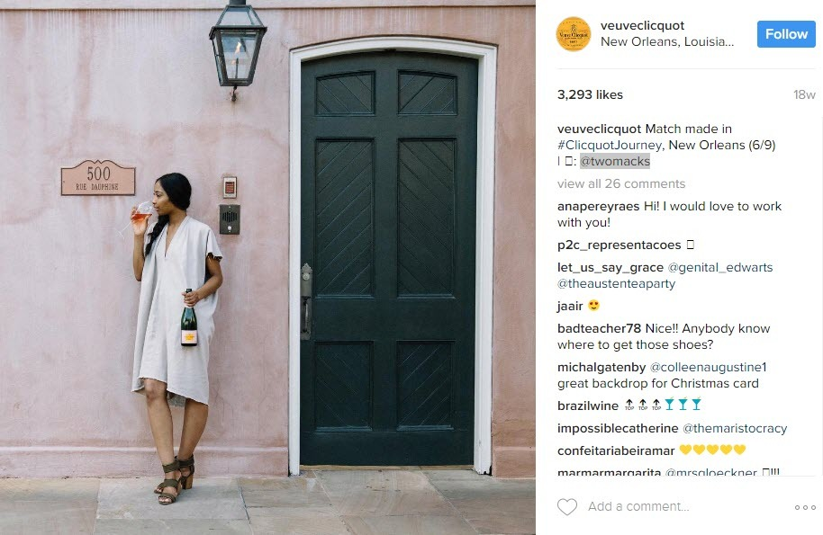 Combine wine hashtags with influencer marketing to grow your Instagram account