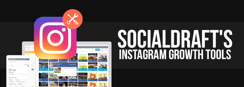 Socialdraft has Instagram growth tools to follow and unfollow people