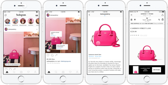 Instagram is testing shopping tags for images for retailers