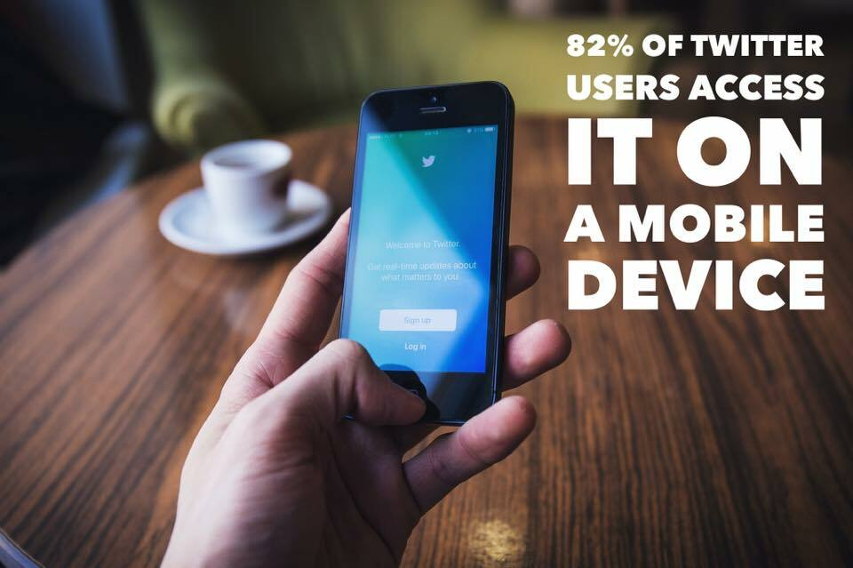 Mobile access leads the way when it comes to accessing twitter