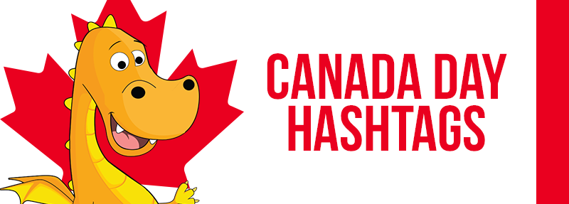How to use hashtags to get more likes and comments on Instagram for Canada Day