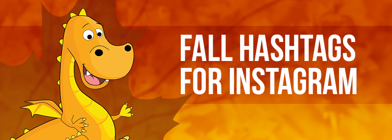get more likes and comments on Instagram with these fall hashtags