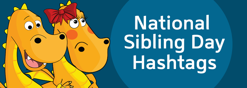 How to use National Sibling Day hashtags to get more likes and comments on Instagram