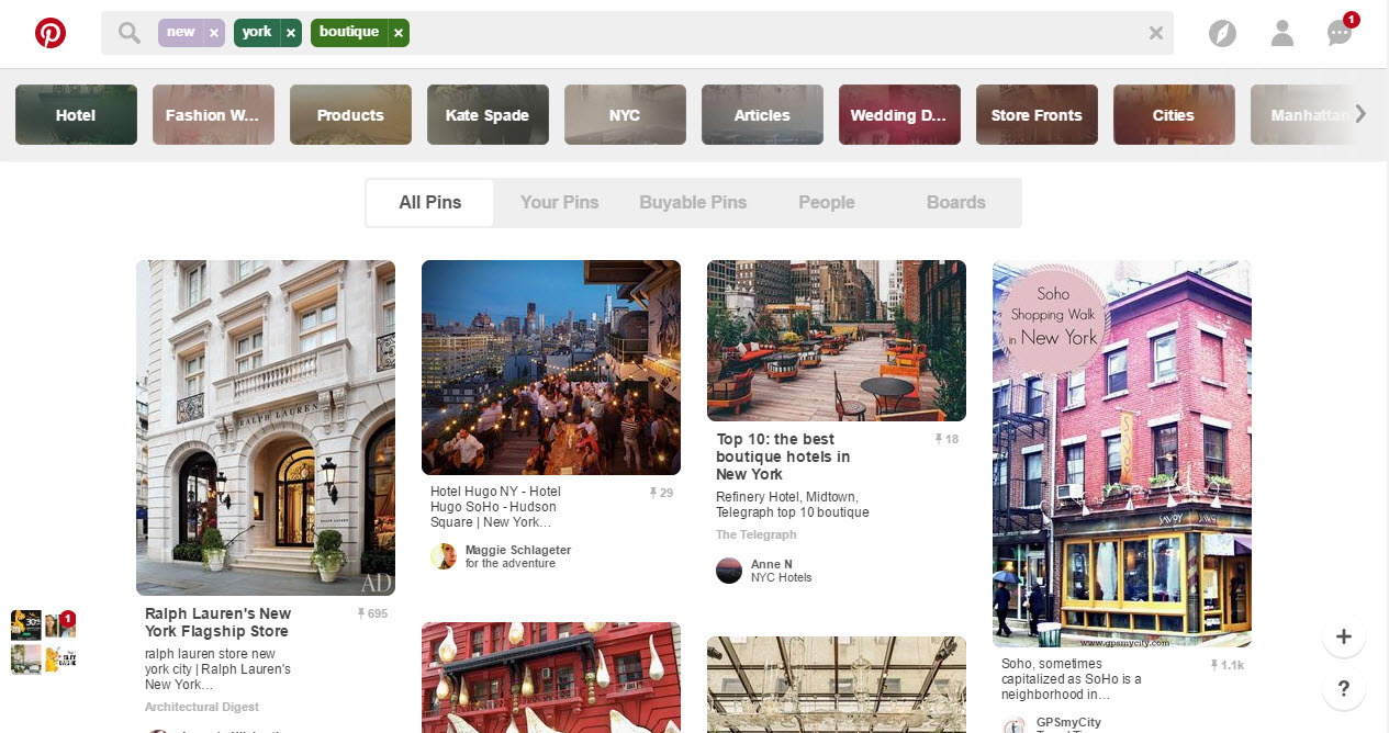 Pinterest drives sales for local businesses