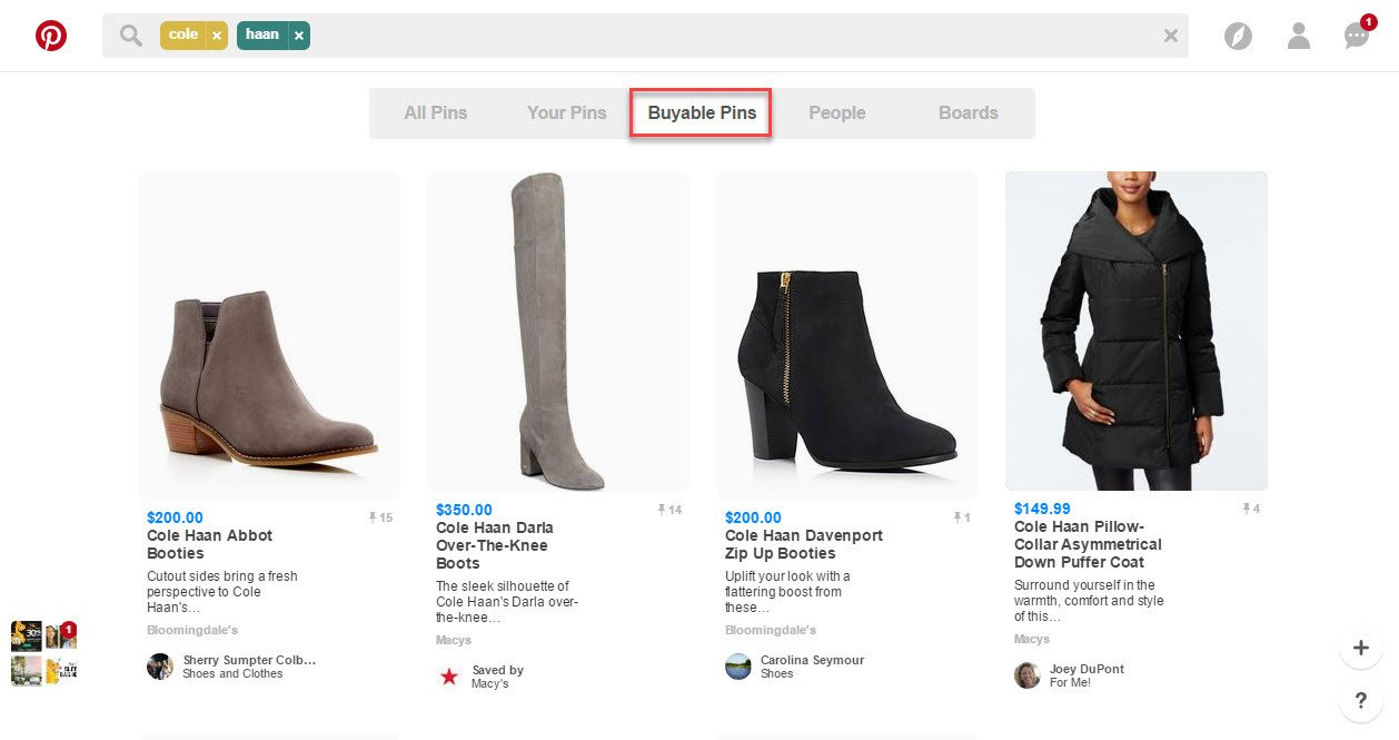 Pinterest drives sales for both regular ecommerce and shopify
