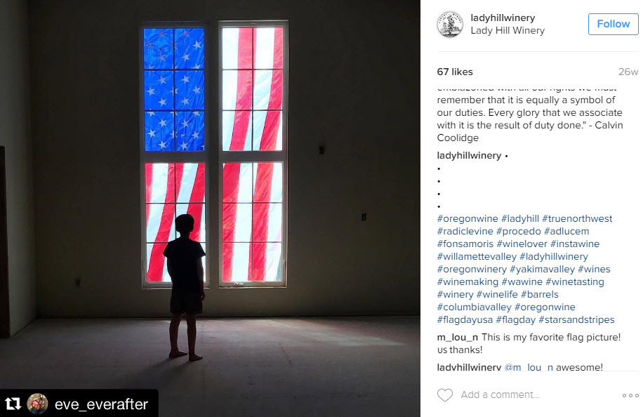 How to use Flag Day Hashtags to get more views