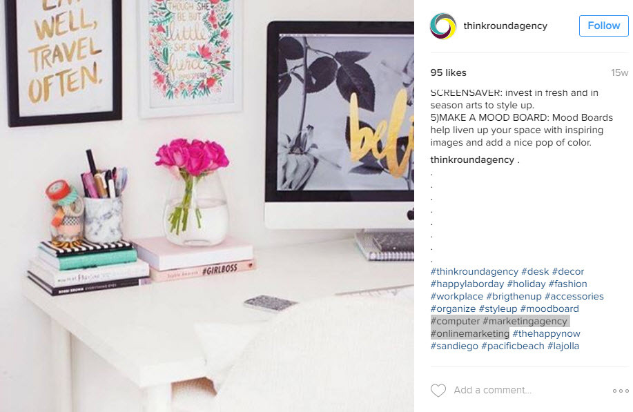 Industry Hashtags will help you reach the right audience