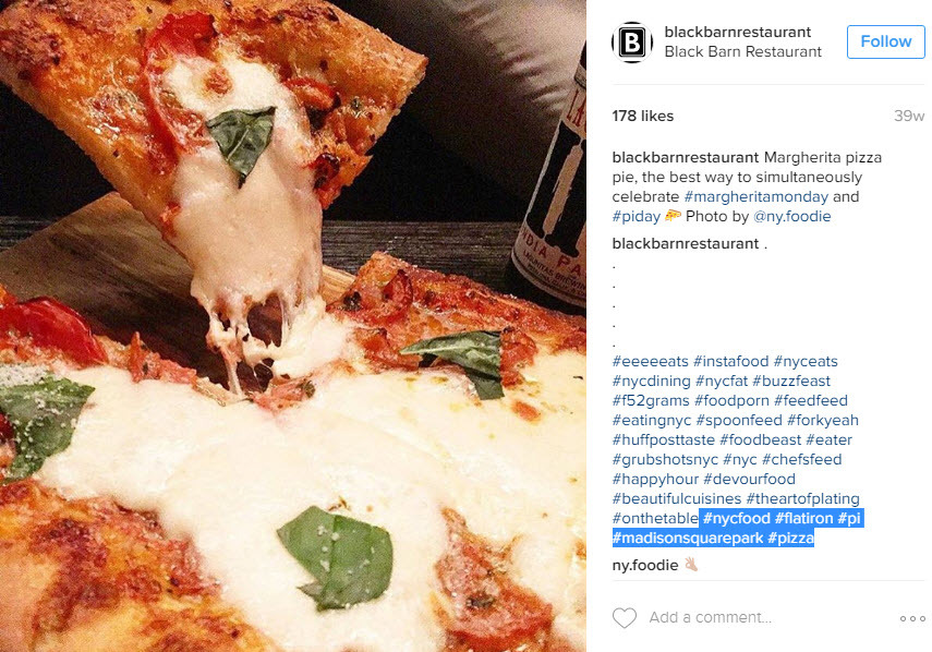 How to use location hashtags on Pi Day