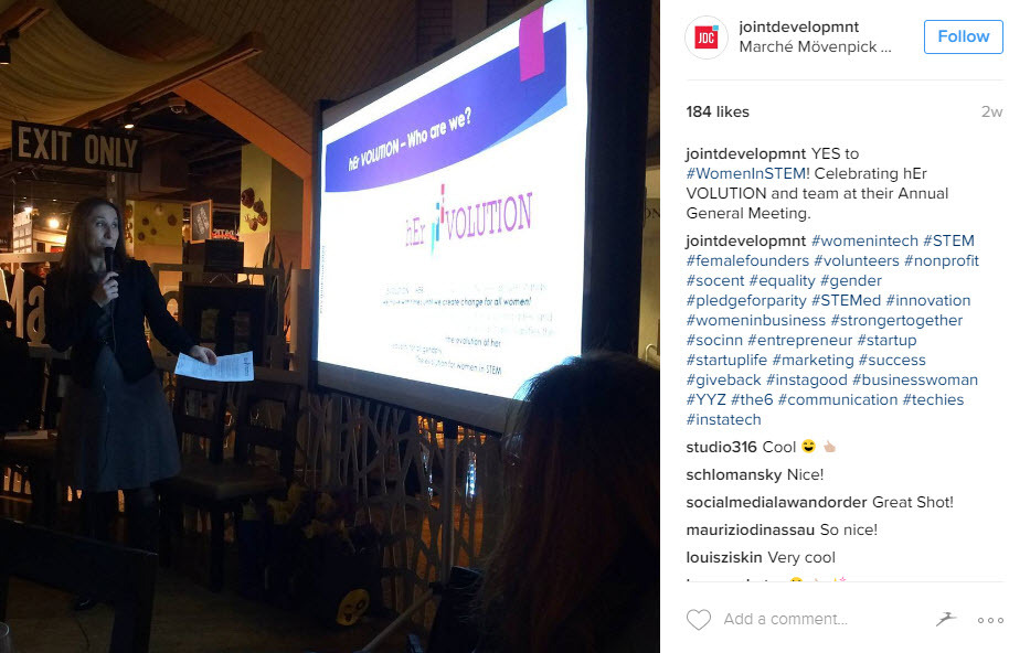 Combine hashtags for the industry you work for with womens day hashtags