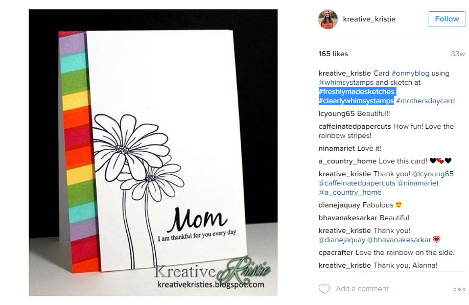 expand your Instagram audience by using other brand hashtags