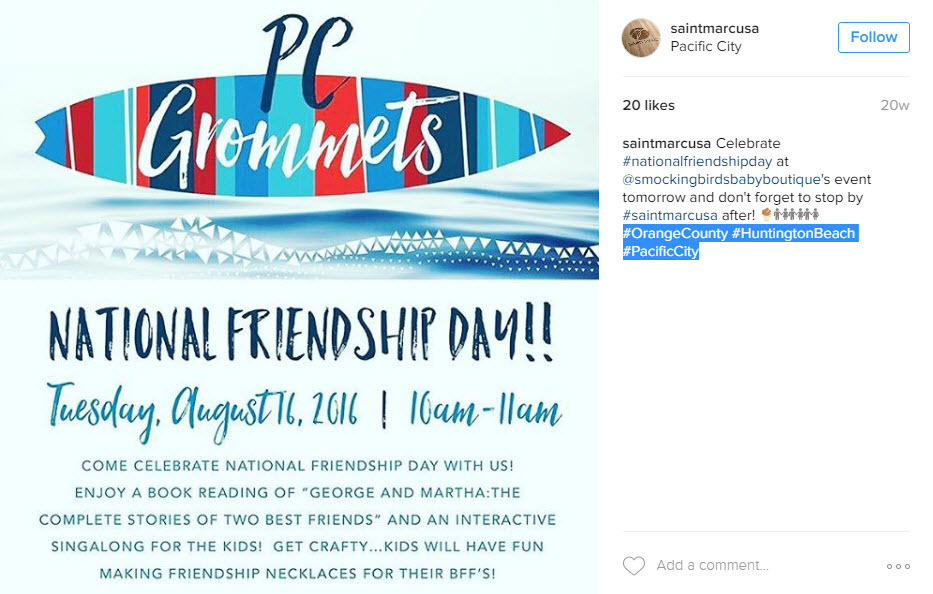How to use location hashtags to get an ROI from Instagram