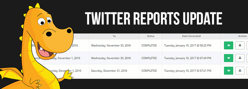 Socialdraft is a social media tool that offers Twitter reports