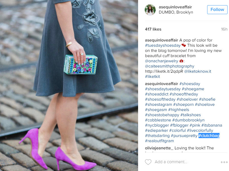 How to mix bag hashtags to get the most out of your Instagram posts
