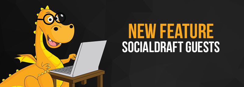 Socialdraft guests can be used for clients