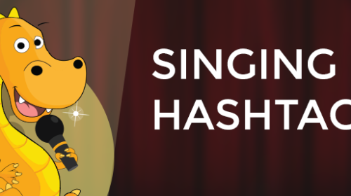 A set of Singing hashtags to help you get more engagement on Instagram