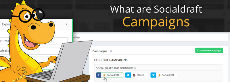 Schedule the same post to multiple social networks with Socialdraft campaigns