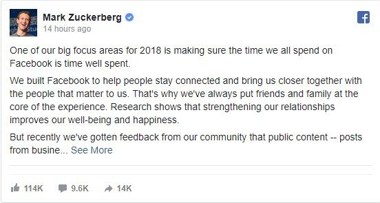 The Facebook Engagement and Conversation Update