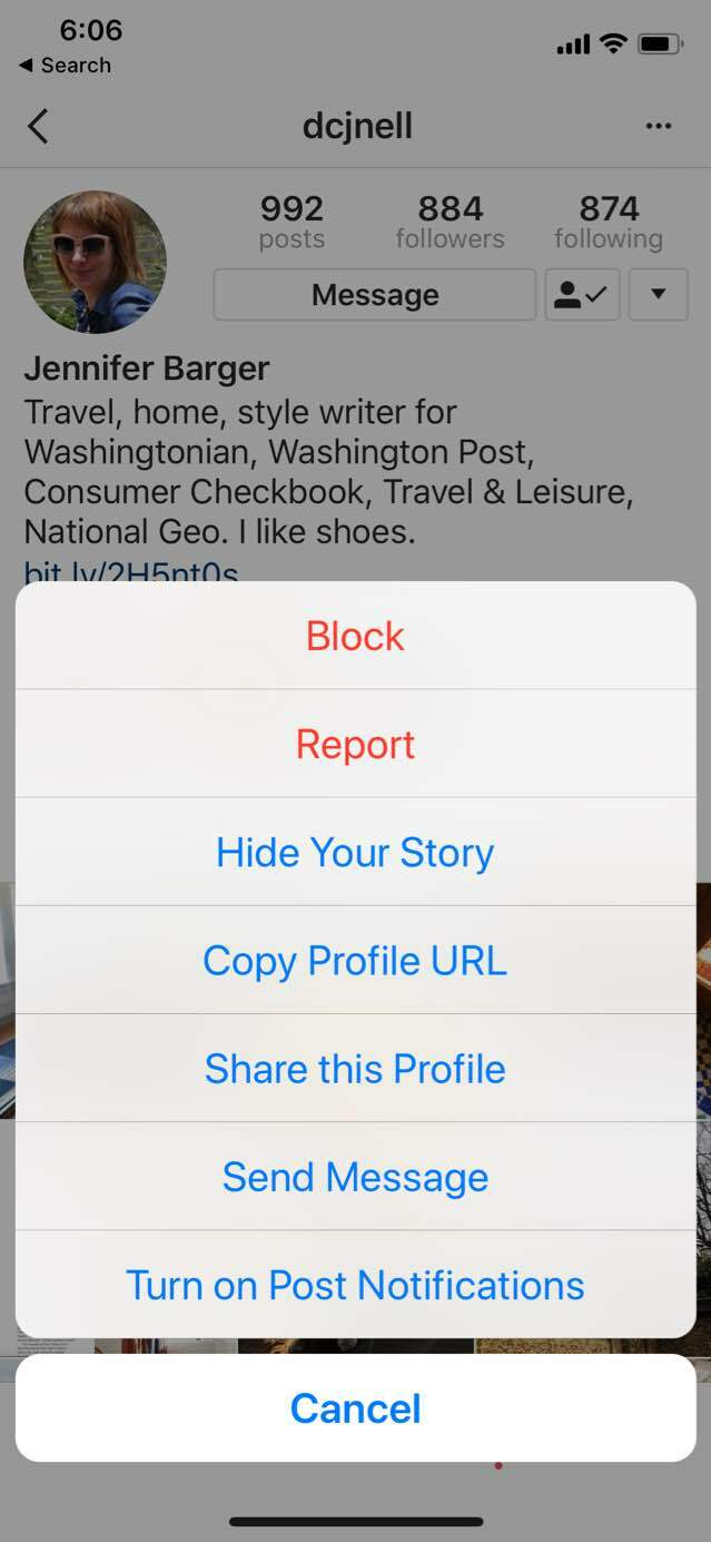 How to hide your Instagram story from a particular person
