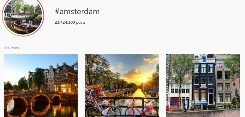 Use these Amsterdam hashtags to reach a local audience