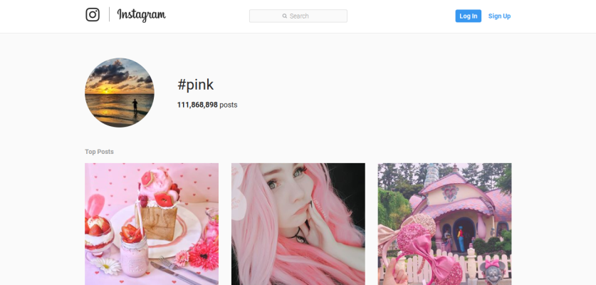 Use this list of optimized pink hashtags to get more engagement on Instagram