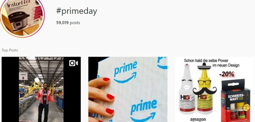 Copy paste Prime Day Hashtags