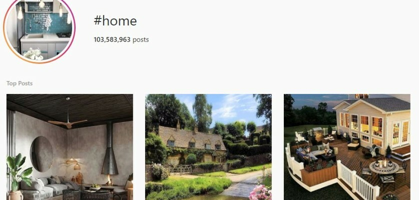 Use this list of the best home hashtags for Instagram