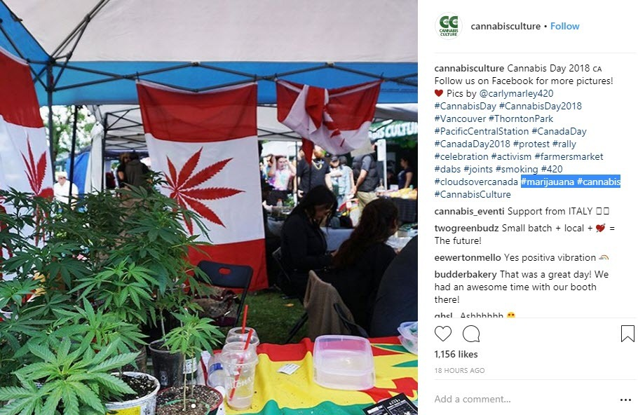 Canada hashags work well when combined with industry hashtags