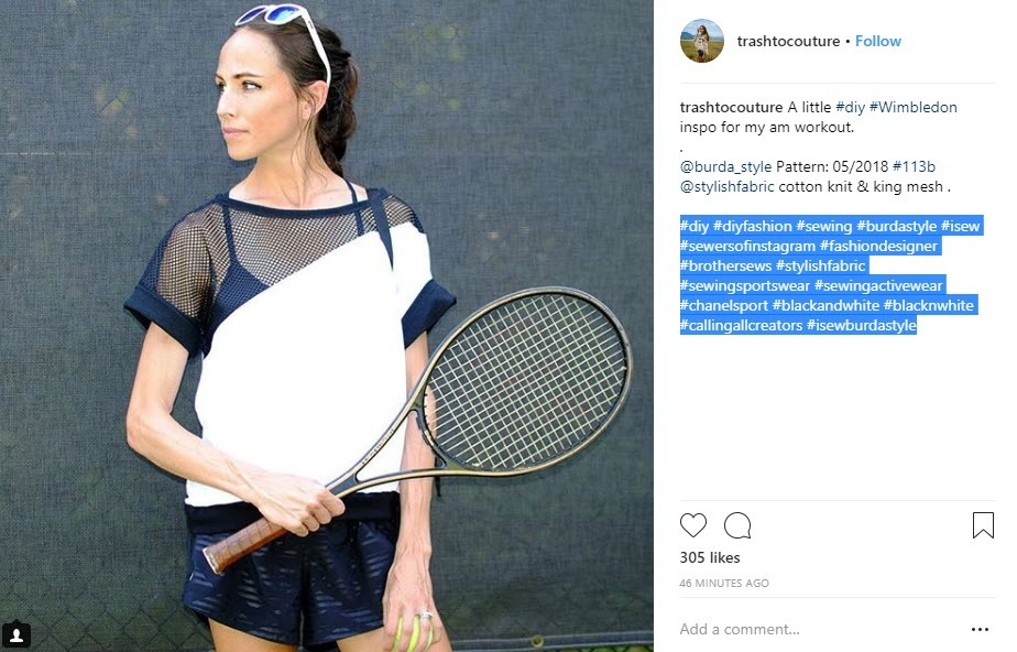 Industry and Wimbledon Hashtags