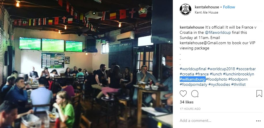 local businesses need to use location hashtags