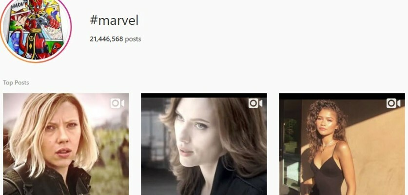 Use this list of the best Marvel hashtags to get more likes and comments on Instagram