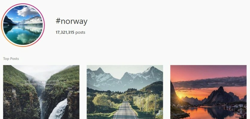 Copy Paste Norway Hashtags
