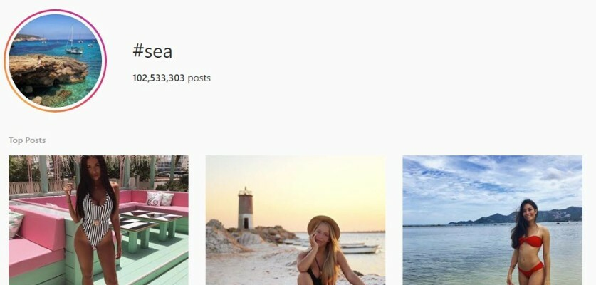 Get more likes and comments on Instagram with these Sea Hashtags