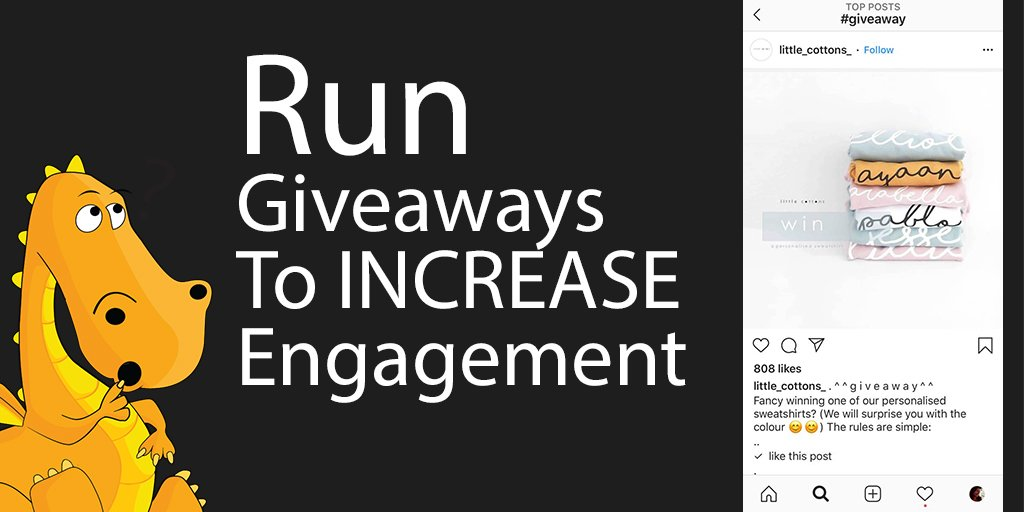How to Increase Instagram engagement with giveaways