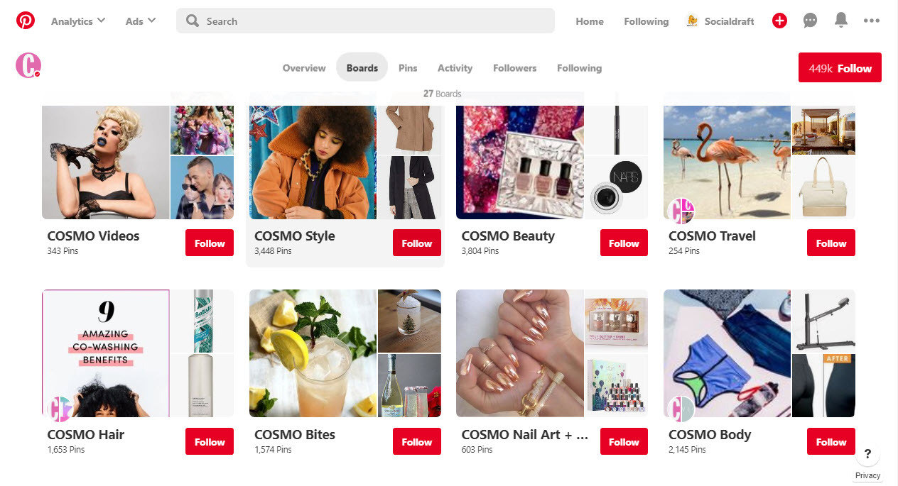 How to curate Pinterest boards