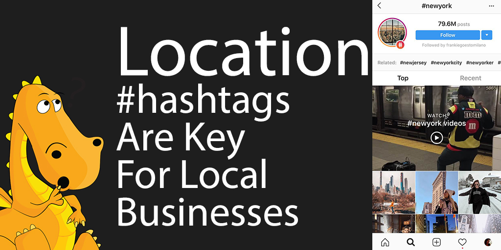 Reach people who convert with location hashtags
